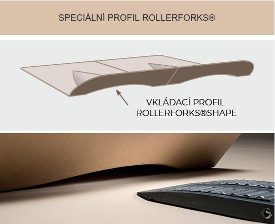 Alternativa k paletám Rollerforks